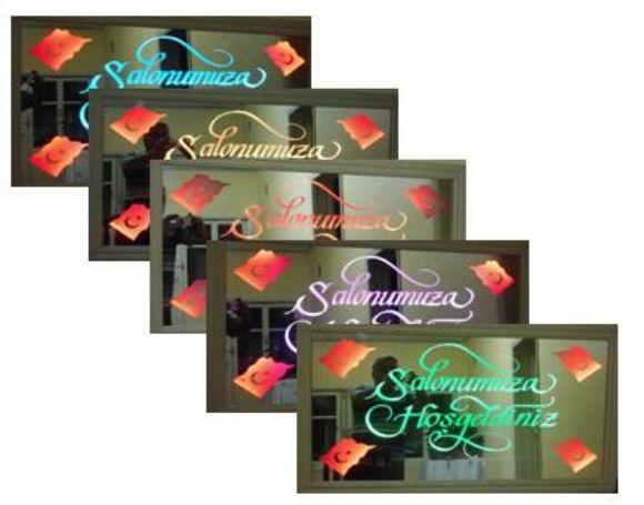 Kişi Ve Firmaya Özel Led Ayna, Animasyonlu Ayna, Reklam Ayna, Tasarım Aynaları