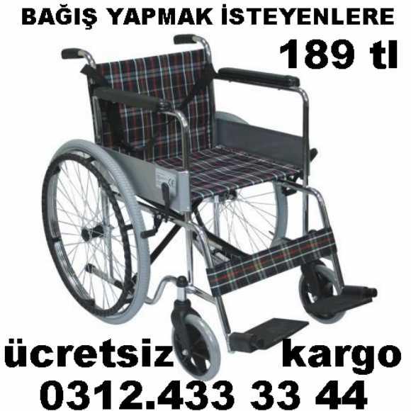 Tekerlekli Sandalye Bağışı Yapmak İsteyenlere Büyük Fırsat