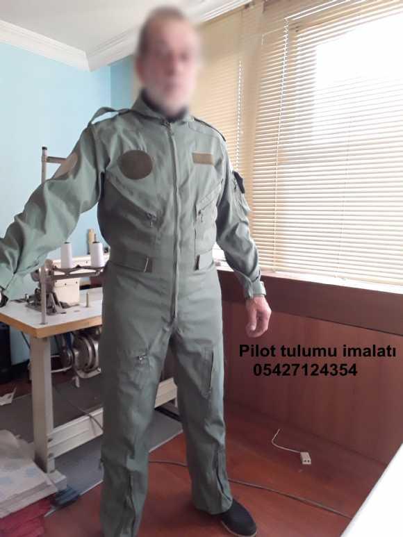 Pilot Tulumu - Tankçı Tulumu - Pilot Uçuş Tulumu