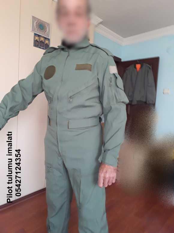 pilot tulumu, pilot ceket pilot eldivenler, pilot uçuş eldiveni, pilot uçuş tulumu, tankçı tulumu. isimlik, künye, pilot ve tankçı tulumu