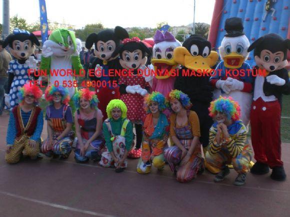 Ankara Güdül Maskot Ve Kostüm Kiralama Fun World Eğlence Dünyası