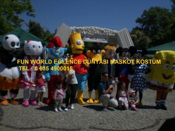 Ankara Keçiören Maskot Ve Kostüm Kiralama Fun World Eğlence Dünyası