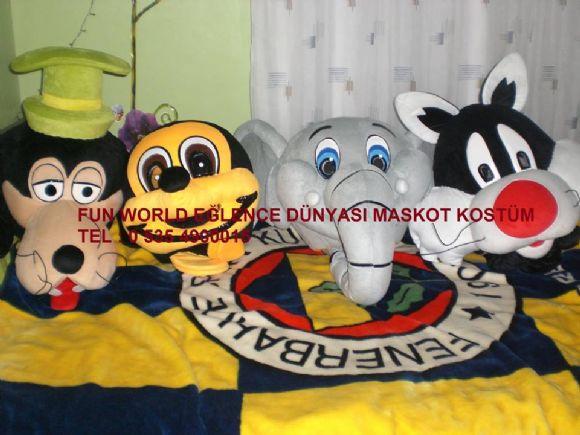 Ankara Kızılcahamam Maskot Ve Kostüm Kiralama Fun World Eğlence Dünyası