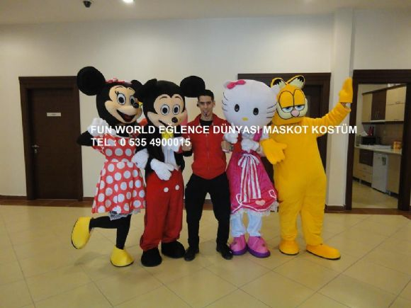 Ankara Polatlı Maskot Ve Kostüm Kiralama Fun World Eğlence Dünyası