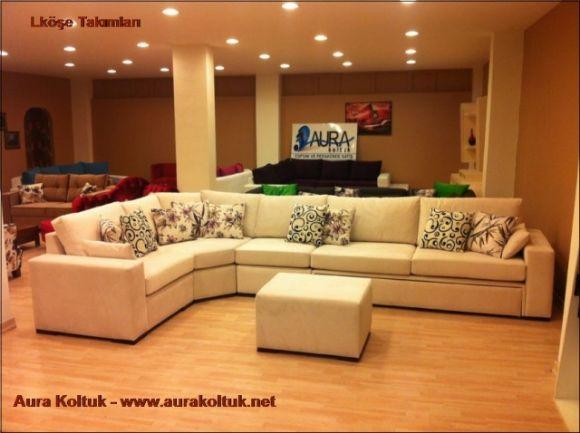 Salon Oturma Takımları  Aura Koltuk Toptan Ve Perakende Satış İmalattan Köşe Koltuk Takımları  Salon Oturma Takımları