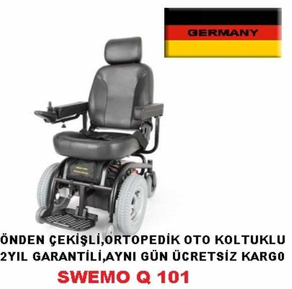 Swemo Q101 Önden Çekişli Alman Malı Oto Koltuklu Akülü Sandalye