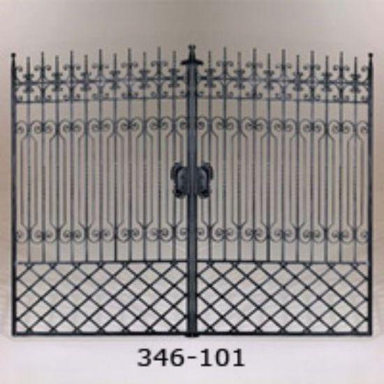 Ferforje Bahçe Kapı İşleri Ferforje Kapı Modelleri