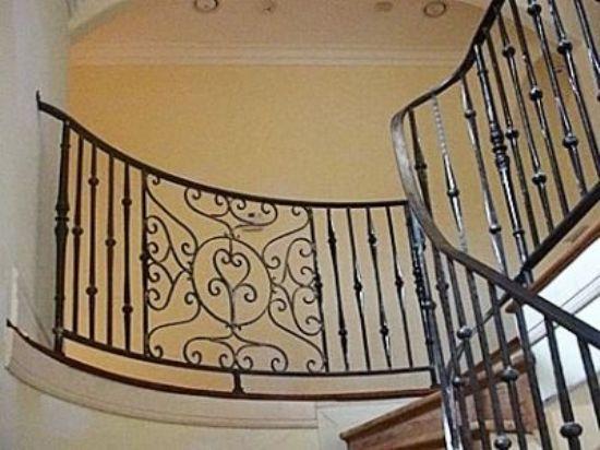 Ferforje Merdiven Korkulukları Ferforje Korkuluk Fiyatları
