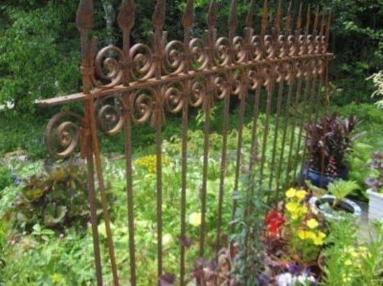Ferforje Bahçe Duvarı Korkuluğu Ferforje Duvar Korkuluğu Modelleri
