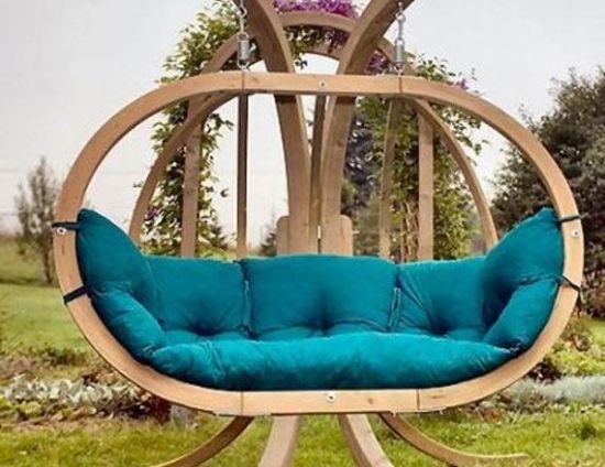 Modern Bahçe Mobilyaları Salıncak Minderleri