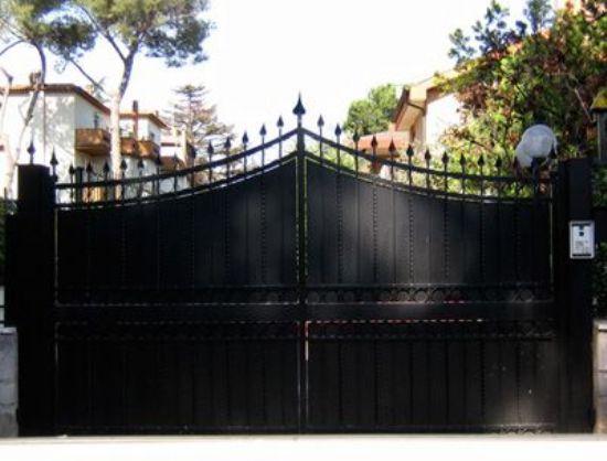 Ferforje Bahçe Kapı Modelleri Ferforje Kapıları