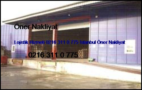 Taksim Lojistik Hizmeti 0216 311 0 775 İstanbul Öner Nakliyat Taksim