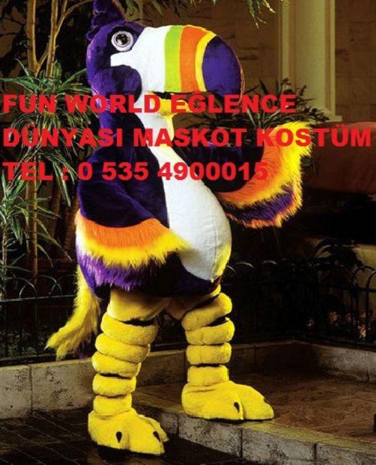 Kuş Sevimli Kuş Tukan Renkli Gagası Türkiye Kostüm İstanbul Ankara İzmir Adana Mersin Bursa Hatay Avm Kreş Çoçuk Panayırı Alışveriş Açılış Aktivite