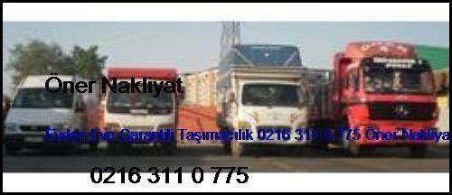 Taksim Evden Eve Garantili Taşımacılık 0216 311 0 775 Öner Nakliyat Taksim