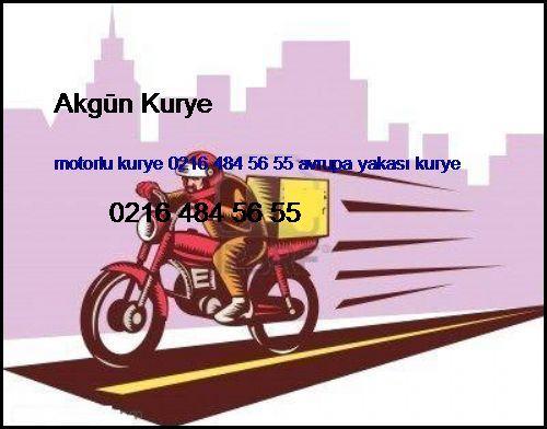 Motorlu Kurye 0216 484 56 55 Avrupa Yakası Kurye