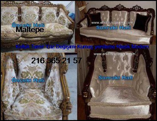 Maltepe Koltuk Tamir Yüz Değişimi Kumaş Yenileme Klasik Modern Maltepe