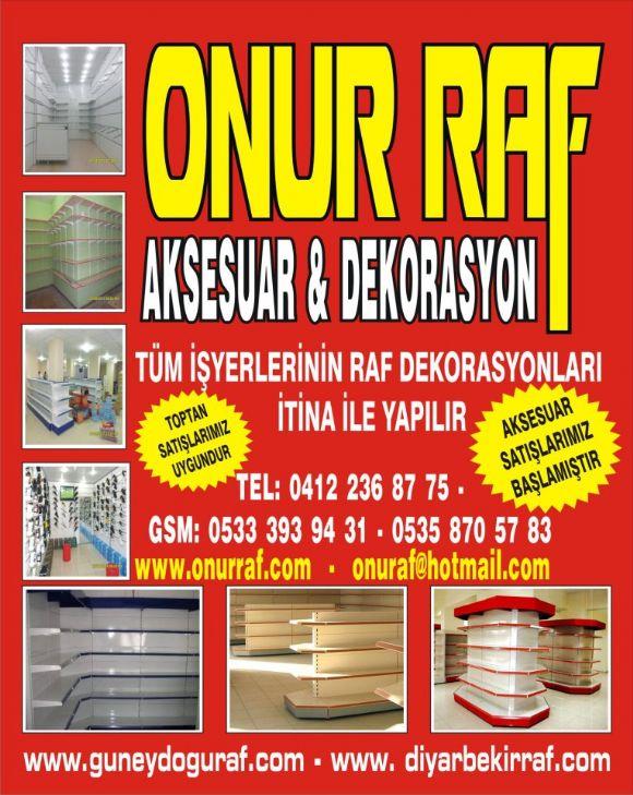 Diyarbakır Raf Sistemleri İmalat Dekorasyon Sanayi İmalat Rafdekorasyon Sistemleri İmalatı Market Ekipmanları Diyarbakır Tasarım Diyarbakır Raf