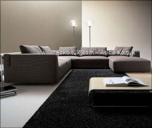 Villa Salon Tasarımları Salon Köşe Takımları, Köşe Koltuklar Asido Kalitesi İle Villa Salon Tasarımları