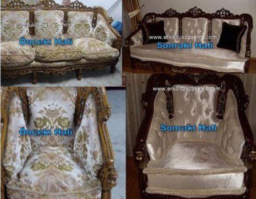Sandalye Deri Kaplama Er Koltuk Döşeme Modoko Sandalye Deri Kaplama