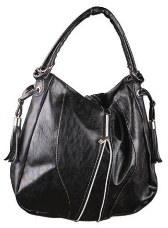 Siyah Fermuarlı Bayan Çanta Şık Ve Kullanışlı
