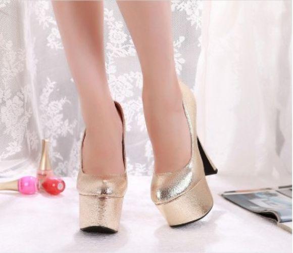 Renkli Platform Topuklu Ayakkabılar  En Güzel Yeni Topuklu Ucuz Bayan Ayakkabı Kadın Modası  Renkli Platform Topuklu Ayakkabılar