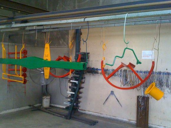 Endüstriyel Boyama Tesisleri  Kuzen Metal Toz Boya Boya Fırını Elektrostatik Boyama  Endüstriyel Boyama Tesisleri
