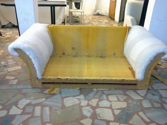 Sandalye Deri Kaplama Miraç Koltuk Döşeme Modoko Sandalye Deri Kaplama