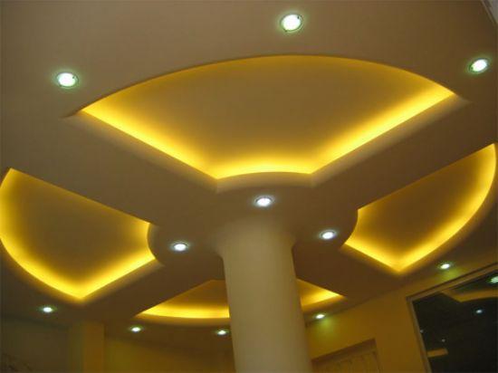 Alçıpan Asma Tavan Modelleri İç Mekan Dekorasyon İç Mimari Dekorasyon Örnekleri