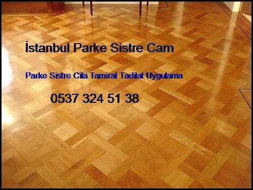 Taksim Parke Sistre Cila Tamirat Tadilat Uygulama Taksim