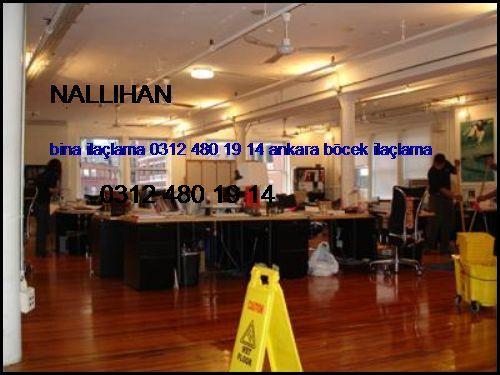 Nallıhan Bina İlaçlama 0312 480 19 14 Ankara Böcek İlaçlama Nallıhan