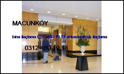 Macunköy Bina İlaçlama 0531 990 48 71 Ankara Böcek İlaçlama Macunköy