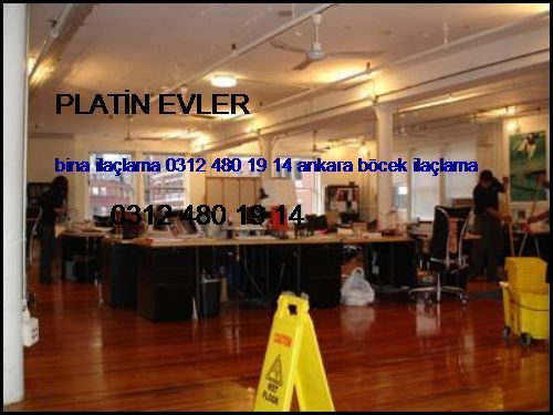 Platin Evler Bina İlaçlama 0531 990 48 71 Ankara Böcek İlaçlama Platin Evler