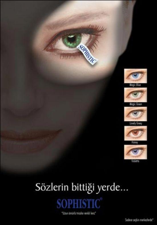 Sophistic Uzun Süreli Renkli Lens (yıllık)