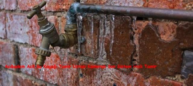 Acıbadem Acil Su Kaçağı Tamir Ustası Kameralı Son Sistem Hızlı Tamir