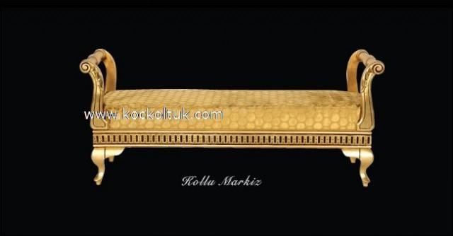 Altın Varaklı Kollu Markiz