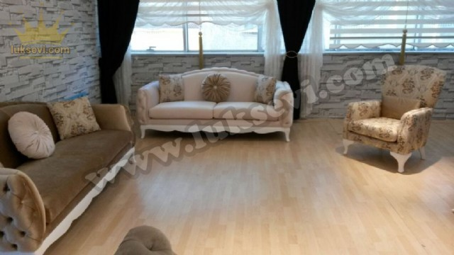 Avangart Koltuk Takımları Beyaz Gri Pembe Hardal Zengin Renkler Özel Üretim