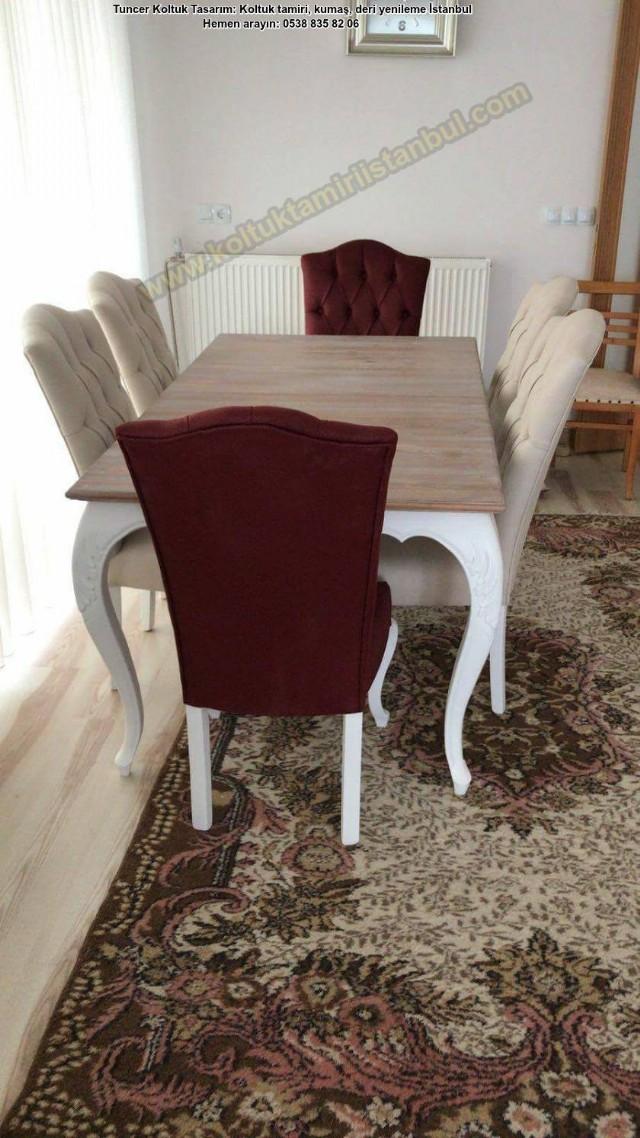 Bostancı Masa Ve Yemek Odası Cila Renk Boyama, Modoko Yanı
