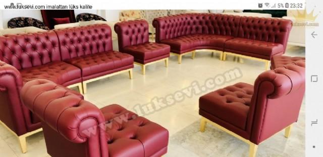 sedir koltuklar, deri sedir koltuklar, deri chester sedir koltuk, cafe sedir koltukları, restoran sedir koltukları, otel lobi lüks koltuklar