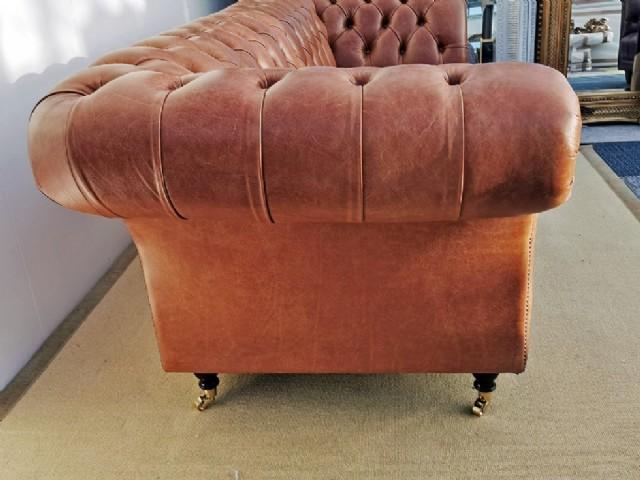 rumu sabit chesterfield kanepe modeli deri koltuk takımları
