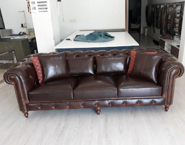 kımları chesterfield üçlü kanepe çeşitleri chesterfield ikili koltuk mode