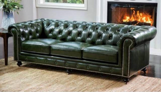 Deri Chester Koltuk Modelleri Chester Leather Sofa Models