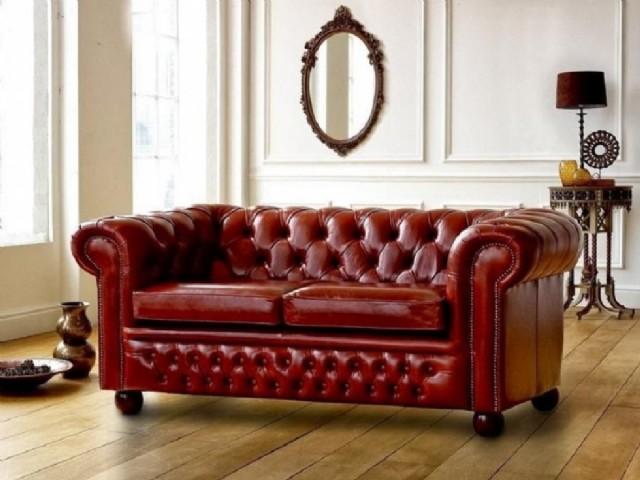 Deri Chester Koltuk Modelleri Leather Sofa Models