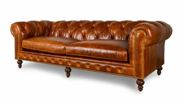 Deri Chesterfıeld Kanepe Modelleri, Chesterfıeld-leather-sofa