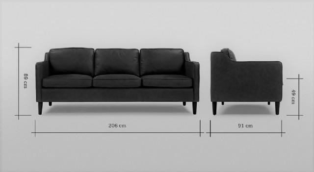 üç kişilik deri kanepe modelleri iki kişilik deri koltuk takımları siyah