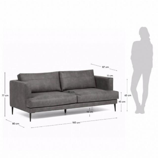 takımları siyah renk deri kanepe modelleri modern kanepe deri koltuklar