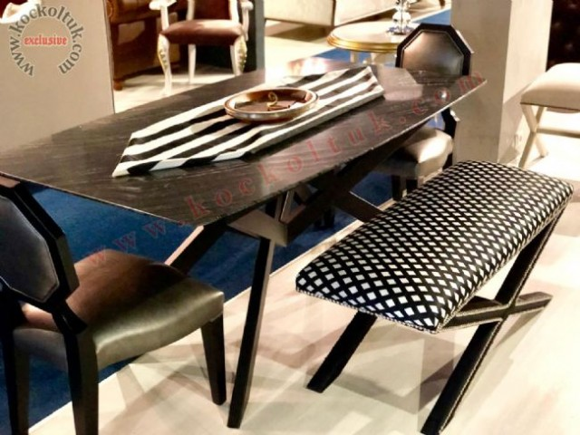 Doğal Mermer Metal Ayak  Masa Ve Sandalye
