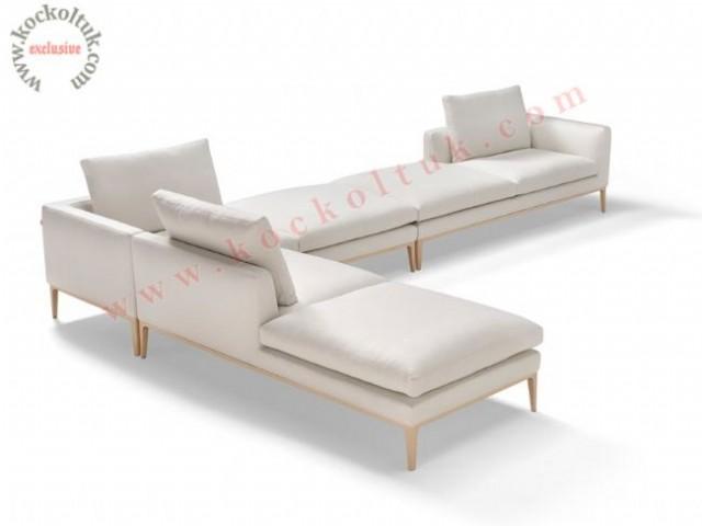 Elegant Modern Köşe Koltuk Takımı Modüler Özel Lüks Tasarım