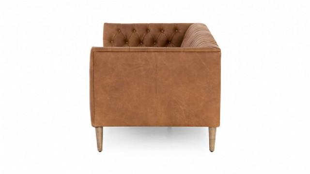 tarzı kanepeler deri kanepeler ev için düğme tepeli kanepe