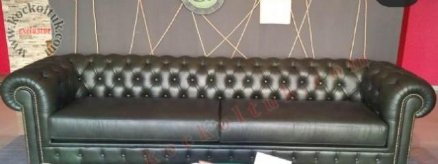 üçlü koltuklar chester çestır gerçek deri çestır koltuklar