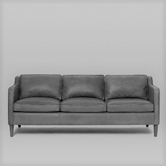 siyah renk deri kanepe modeli modern deri koltuk takımlar